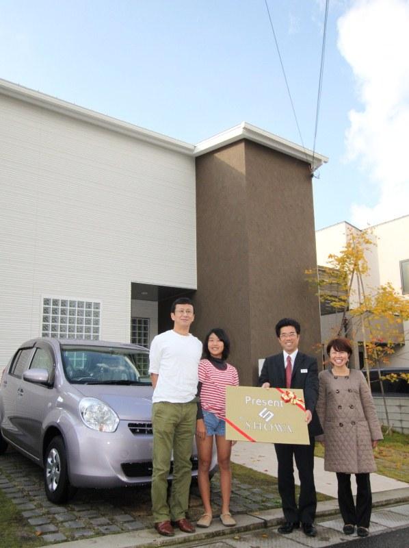 【CLUB SHOWA】新車プレゼントキャンペーン 抽選会!