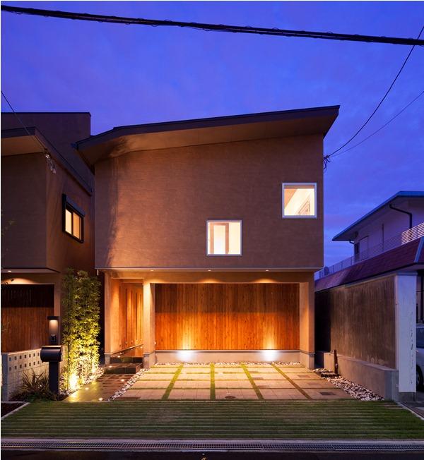 【施工例集】和モダン 住宅デザイン(ハイキューブ豊中末広)