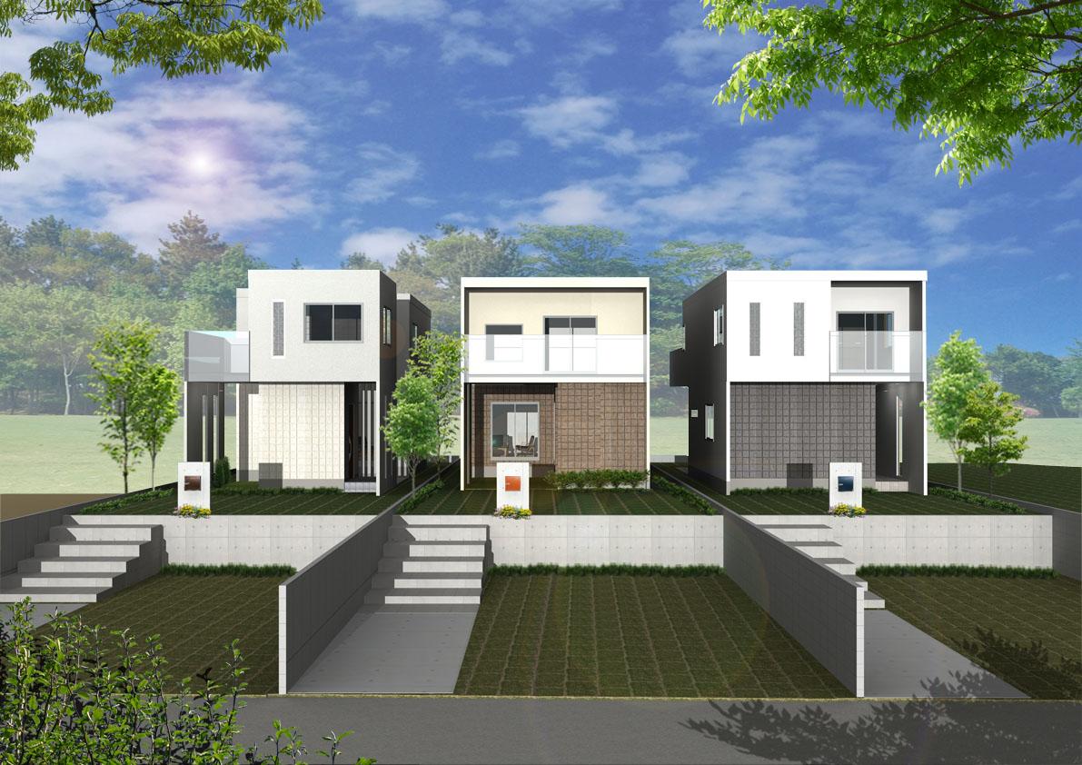 【新築一戸建】ハイキューブ学園前南ガーデンプレイス
