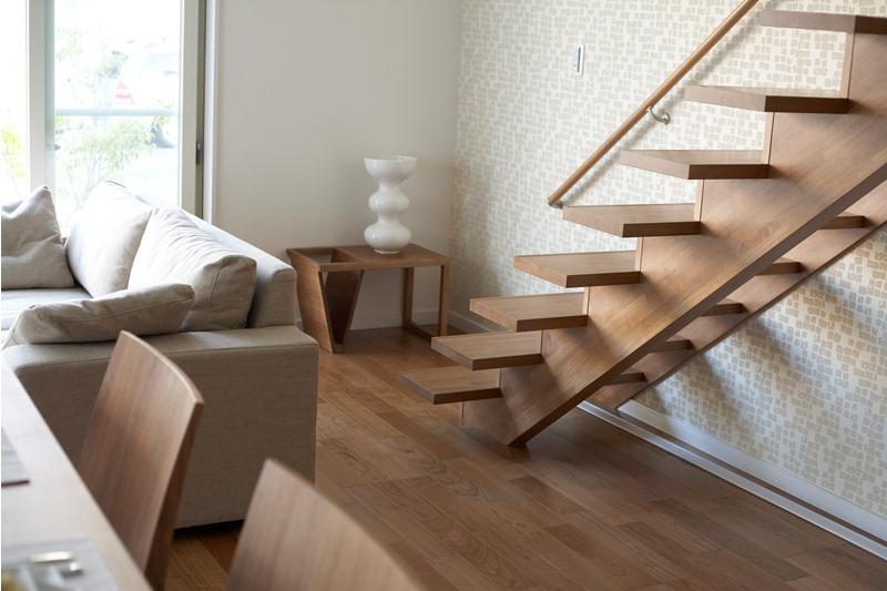 【施工例集】デザイン住宅の階段