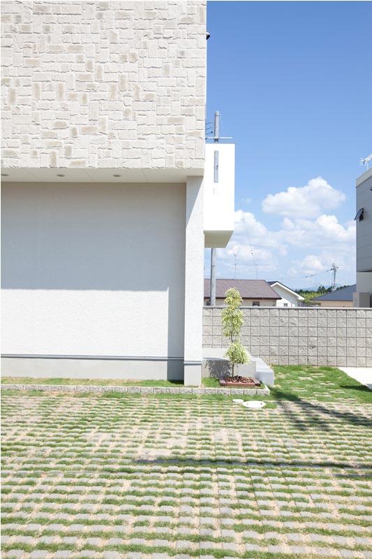 シンプルモダン 外観施工例 【新築 デザイナーズ住宅】SHOWA